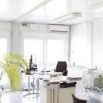 Bürocontainer Beispielbüro