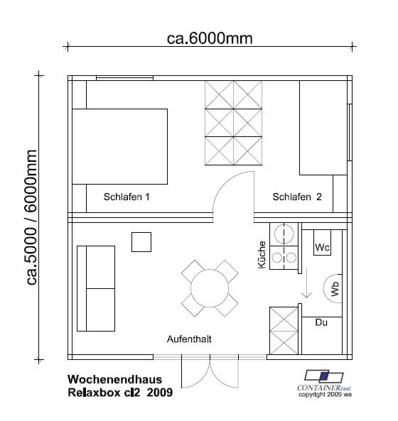ferienhaus mobiles ferienhaus von containerland. Black Bedroom Furniture Sets. Home Design Ideas