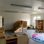 Kindergartencontainer innen