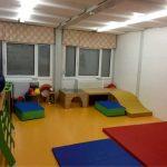 Kindergartencontainer innen Spielecke